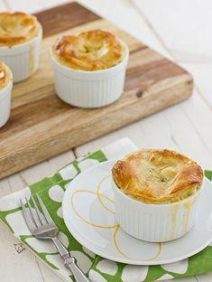 Oh-So-Easy Broccoli Cheddar Pot Pies