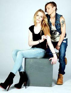Kirill Sadovy (male) & Alexandrina Til (female)