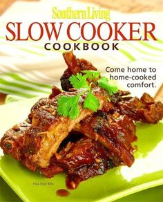 Southern Living Slow-Cooker Cookbook - one of our associates recommended this #cookbook
