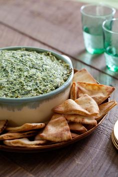 I pinned Warm Spinach Artichoke Dip in Food Network's Healthy Every Week Sweepstakes and entered to win a home juicing kit. #FeelGoodFood