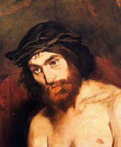"Images of Jesus...which do you connect with?  ""The Head of Christ"" (c. 1864) 