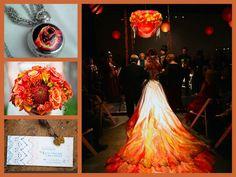 Hunger Game wedding theme