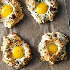 Eggs in Clouds - This popular 5-ingredient egg recipe looks harder to make than it actually is. Make it for breakfast or brunch and you'll be sure to impress family or friends alike