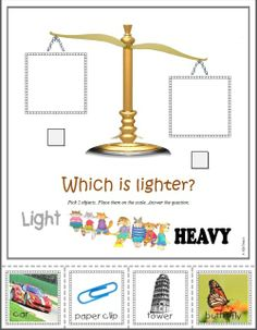 FREE WORKSHEETS* Teach basic measurement concepts using a