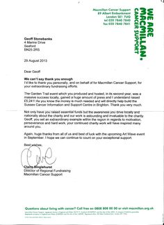 Charity Sponsorship Letter Sample  Free Sample Letters