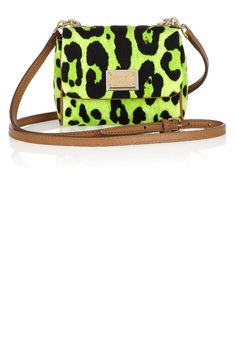 Lime Leopard Printed bag - Dolce and Gabbana