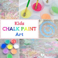 Create Fun Chalk Pai