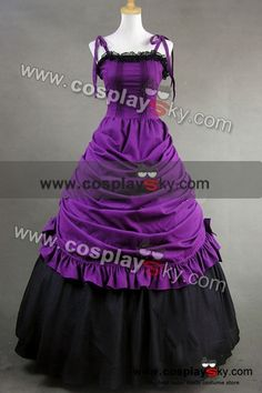 Southern Belle Civil War Ball Gown Wedding Dress ME SO LOVE THIS!!! OMG!!!