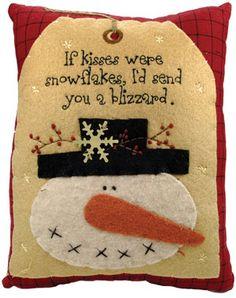 Snowman Pillow, Snowmen & Frosty Friends Craft