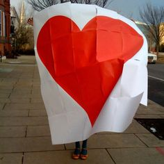 red, valentine day, paper hearts, sweet treats, giant heart, papers, kate spade, thing, heart cards