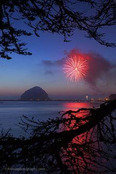 Morro Bay, Ca. on 4th of July! **