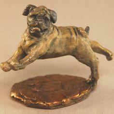 Pug Sculpture
