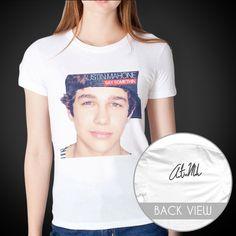 Austin Mahone t-shirt!! i want this soo bad $20.00 at mahonies.com