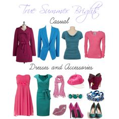 color chart, color analysi, style, sabiraamira, summer colour, summer bright, polyvore, relook, true summer color palette