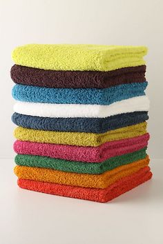 anthro towels