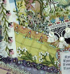 More crazy quilt embellishments
