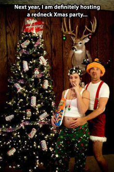 A very redneck Christmas.
