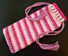 Stripey Pouch (Helix
