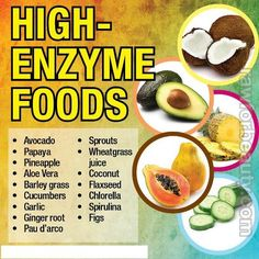 foods, food facts, high enzym, healthi eat, health benefits