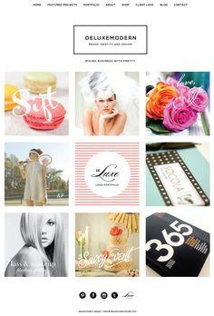 Deluxemodern Design   New Website