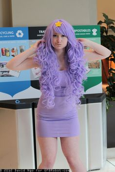 Lumpy Space Princess by DTJAAAAM, via Flickr    Like the wig on this one