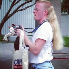 Mullets can always make us laugh