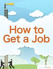 How to Get a Job - our enhanced eBook/iBook - available on the iPad!
