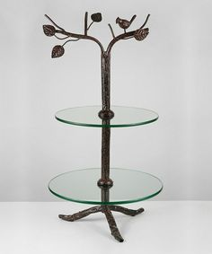 Another great find on #zulily! Tree Branch Two-Tier Dessert Stand #zulilyfinds