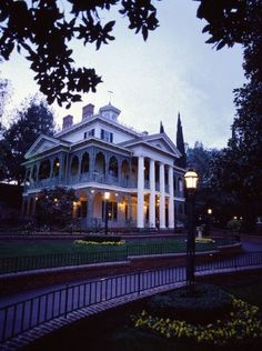The Haunted Mansion at Disneyland Park.