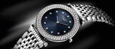 Longines La Grande Classique Un símbolo de elegancia que conserva el estilo de la colección, ahora con el resplandor de un centenar de diamantes.