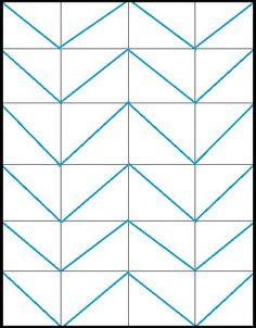 chevron patterns, how to make chevron pattern, diy chevron pattern, how to make a chevron pattern, how to draw chevron pattern, canvas pattern painting, chevron pattern how to
