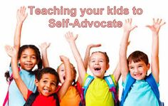 Teaching self advocacy skills...