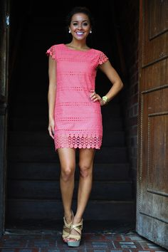 perfect dress to wear to a shower this summer