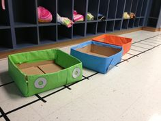 Cute coaster track & cars for a preschool class @ Colossal Coaster World VBS at Lawndale Baptist Church
