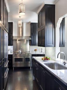 black cabinets LBV