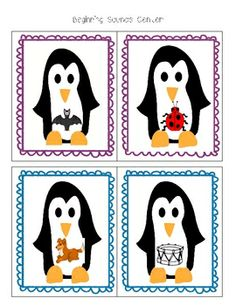 Polar Bears & Penguins Unit: Literacy & Math Centers!  This is a 99-page unit that is full of printable literacy, writing, science, and math center worksheets and activities.  Includes alphabet, beginning sounds, syllables, numbers, graphing, addition, sight words, and more!  $