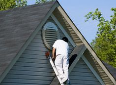 Vinyl or aluminum Siding painting
