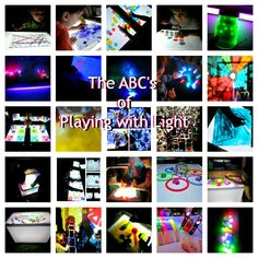 The ABC's of playing with light from Caution! Twins at Play