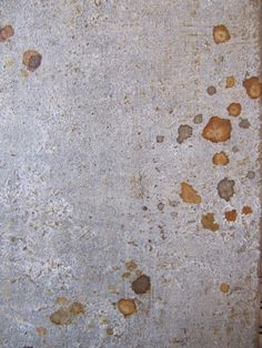 Soft grey patina with rusty spots by Hannah Woodhouse, finish for wall lights & decorative wall panels & doors  www.hannahwoodhouse.com