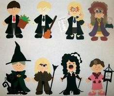 Harry Potter Characters with Cricut