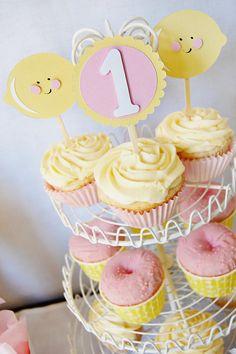 Pink Lemonade Party by http://pinwheellane.etsy.com  #pink #lemonade #party #lemon