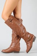 Soda Nakia-AS Slouchy Knee High Riding Boot $32.90