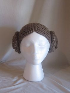 Could this beanie be more perfect for a daughter cursed with the middle name 'Leia' by her nerd father?!