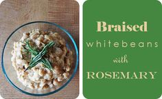 Braised White Beans with Rosemary - The Beautiful Balance