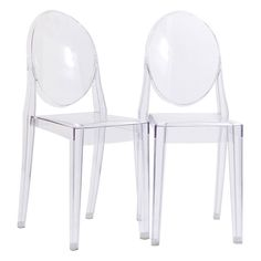 Modway Casper Stackable Dining Side Chairs - Set of 2