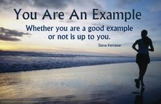 You Are An Example