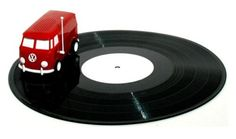 Soundwagon portable record player drives on your vinyl