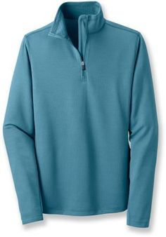 Zip pullover polartec top (I wear this just about every trip)