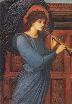 Edward Burne-Jones, An Angel