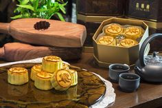 Gifting mooncakes is one of the hallmark traditions of the Mid-Autumn Festival. The Peninsula mooncakes are hand-made mini egg custard mooncakes.